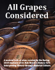 exhibit poster: All Grapes Considered