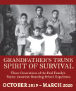 exhibit invitation thumbnail: Grandfather's Trunk