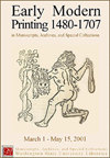 Poster image of Early Modern Printing 1480-1707.