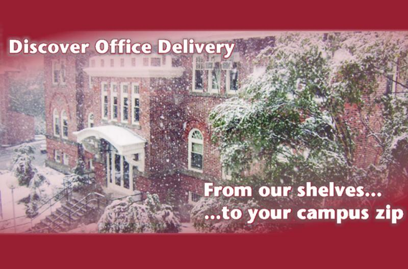 Discover Office Delivery - From our shelves, to your campus zip