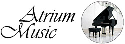 Atrium Music piano logo